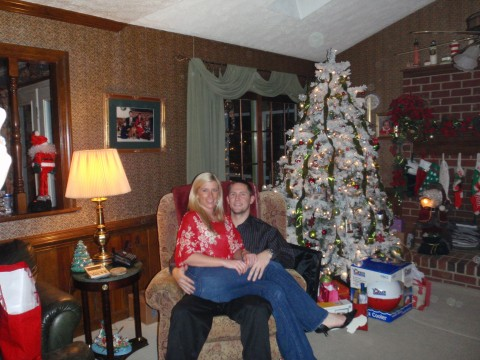 Spendin' our first Christmas together!!
