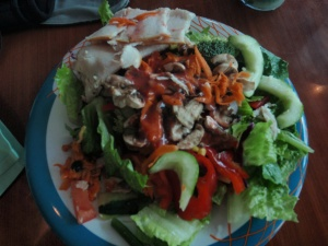 K, call me crazy, but I think the cruise salad bar is the besttttttttttt (yea, that's right!)