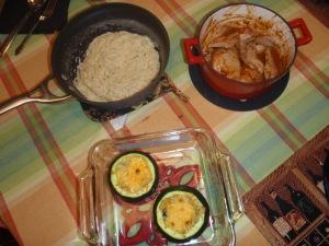 Pork & squashies & noodles oh my!