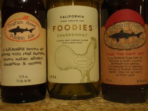 Foodies Wine!, pumpkin ale!