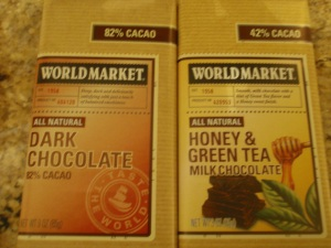 honey & green tea chocolate - I think so!