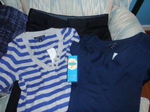 2 light sweaters, dress black pants & endless loveeeee from VS