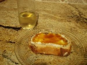pumpkin butter + cream cheese strikes again!