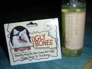 Ugly bones? More like yummy bones, right Lu?!