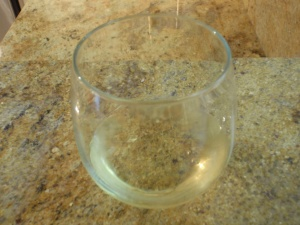 I break too many wine glasses w/ stems :/ haha
